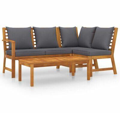 Kdy je sada venkovního nábytku nejlepší volbou?