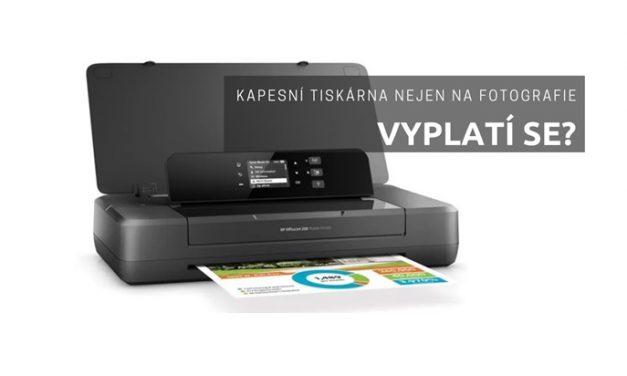 Kapesní tiskárna nejen na fotografie. Vyplatí se?